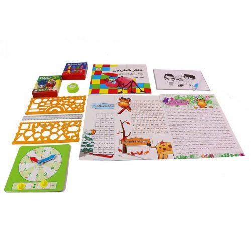 اسباب بازی آموزشی بسته ریاضی کلاس اول دیستان انتشارات آوای بامداد 1 1