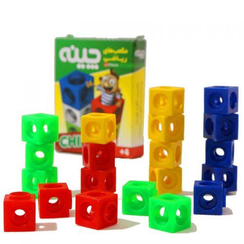 اسباب بازی آموزشی مکعب های ریاضی چینه 20 تایی لبخند 2 1