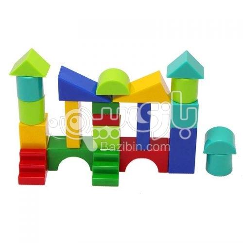 اسباب بازی بریکس پلاستیکی 32 عددی صنایع آموزشی 1