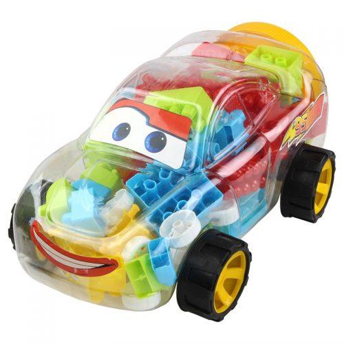 بازی بلوک ساختنی مدل ماشین مک کویین با بلوک های ریز کوشا بلوکز