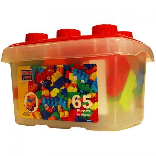 اسباب بازی بلوک ساختنی مدل 7000 باکسی کوشا تویز 6 1