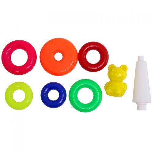 اسباب بازی حلقه هوش کوچک خرسی لبخند 1 1