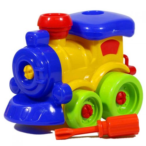 اسباب بازی کوکی مکانیک قطار فرفره های رنگی 3
