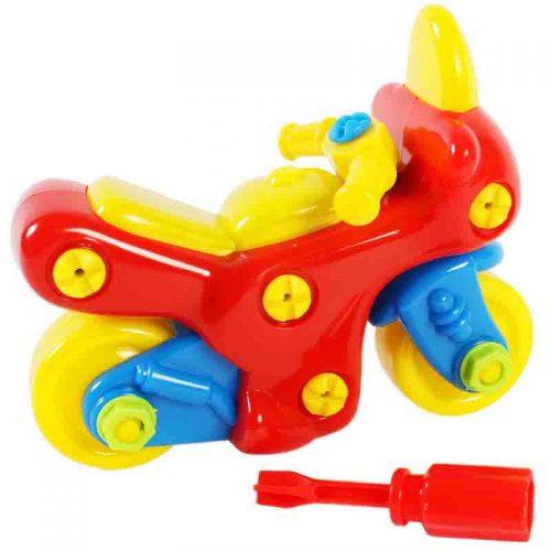 اسباب بازی کوکی مکانیک موتور فرفره های رنگی 4