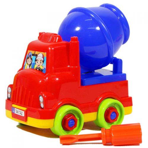 اسباب بازی کوکی مکانیک میکسر فرفره های رنگی 3