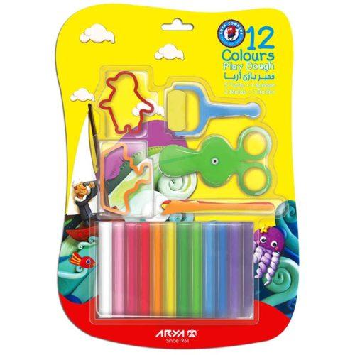 12 رنگ وکیومی با ابزار 5508 آریا1