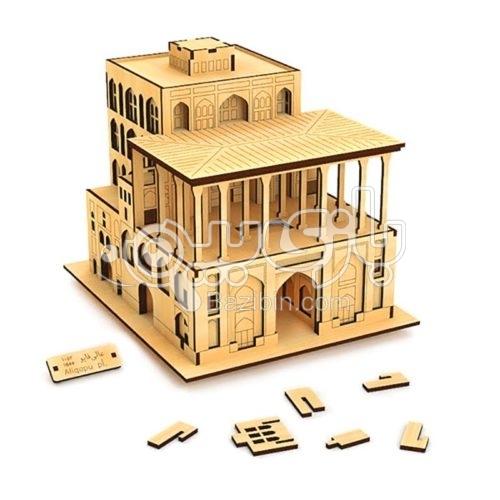 سه بعدی عمارت عالی قاپو بزرگ تمدن پارس 5