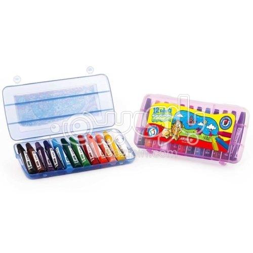 12 رنگ کیفی پلاستیکی 5589 آریا1