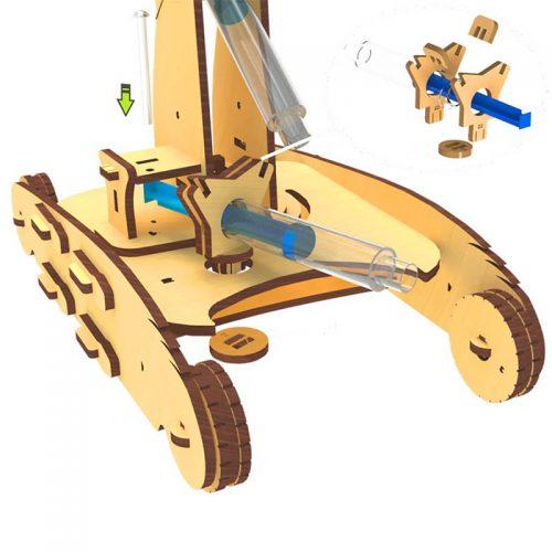 0112 ربات بازو هیدرولیک 7 مهارت افزا