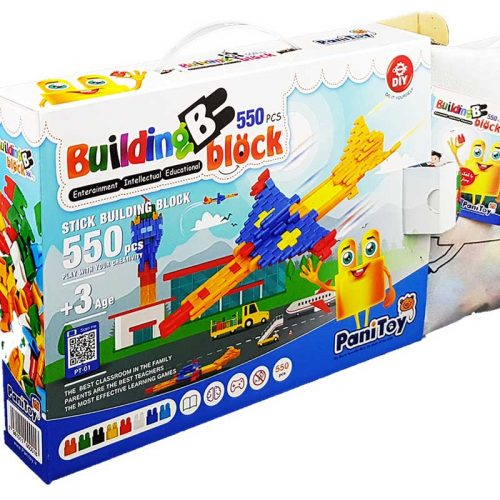 اسباب بازی بلوک 550 قطعه پانی تویز6