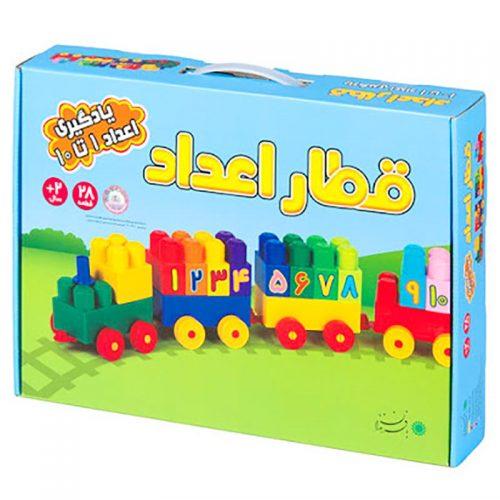 اسباب بازی آجره قطار اعداد با فرزندان 1