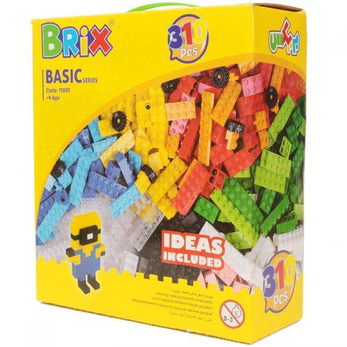 اسباب بازی بریکس 11001 جعبه ای 310 قطعه کوشا بلوکز 1