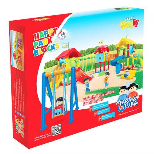 اسباب بازی پارک شادی 98 تکه تک توی 3