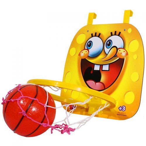 فکر بازینواسباب بازی ست بسکتبال دیواری شخصیت با توپ 4