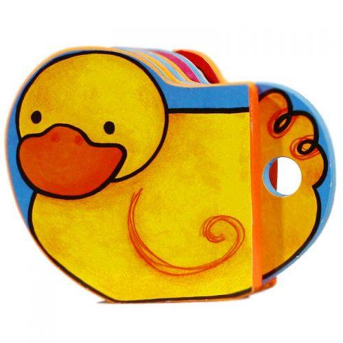 کتاب فومی شالاپ شولوپ یه اردک با فرزندان5