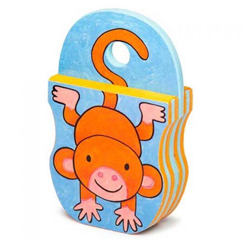 کتاب فومی یه میمون بازیگوش با فرزندان 3