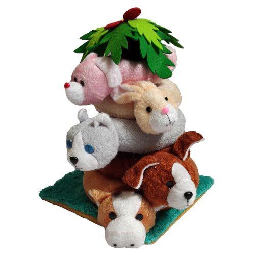 بازی حلقه هوش عروسکی حیوانات مزرعه شادی رویان