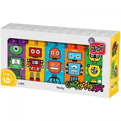 بازی آجره جورواجورچين رباتها با فرزندان 3