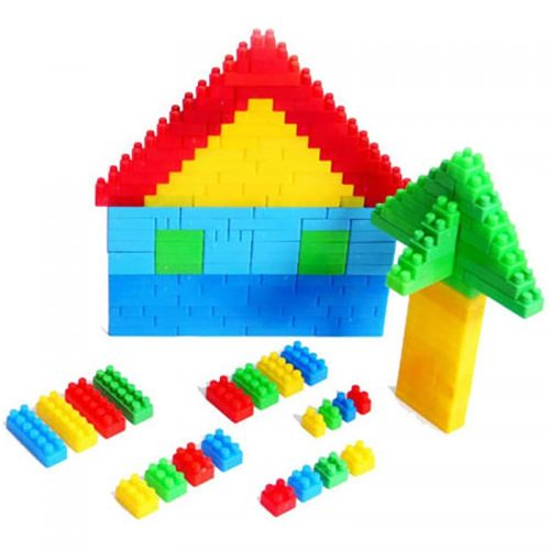 بازی خانه سازی ریز صندوقی کوچک گلدونه