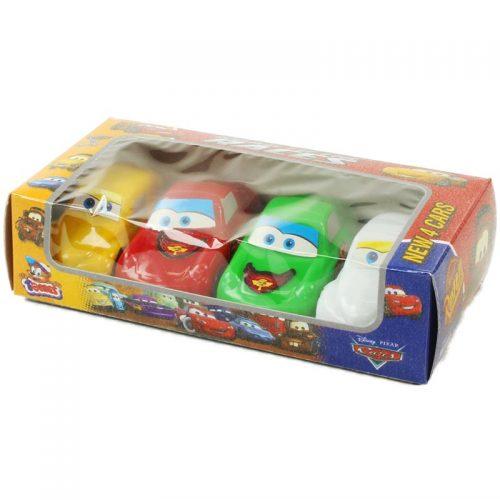 اسباب بازی ماشین کوچولو 4 عددی تومس جعبه ای 2