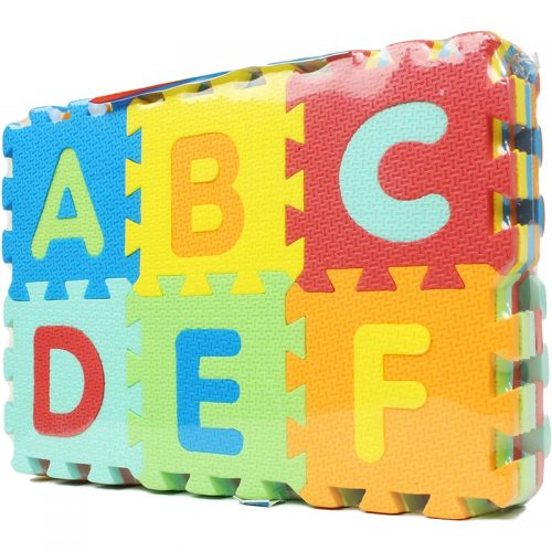 بازی پازل حروف و اعداد لاتین بزرگ آی فوم 2