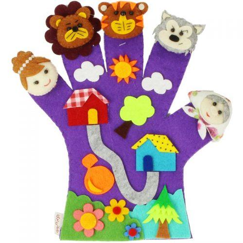 دستکش عروسکی مامانی پری 10