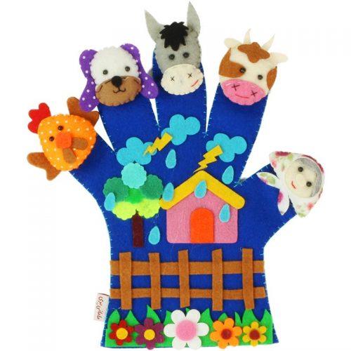 دستکش عروسکی مامانی پری 12