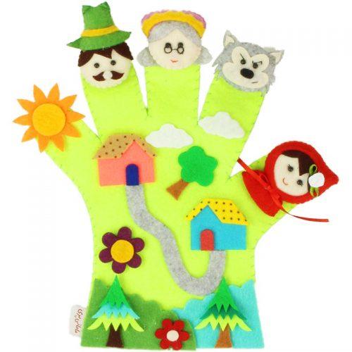 دستکش عروسکی مامانی پری 8
