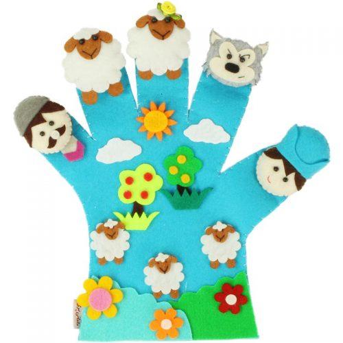 دستکش عروسکی مامانی پری 9
