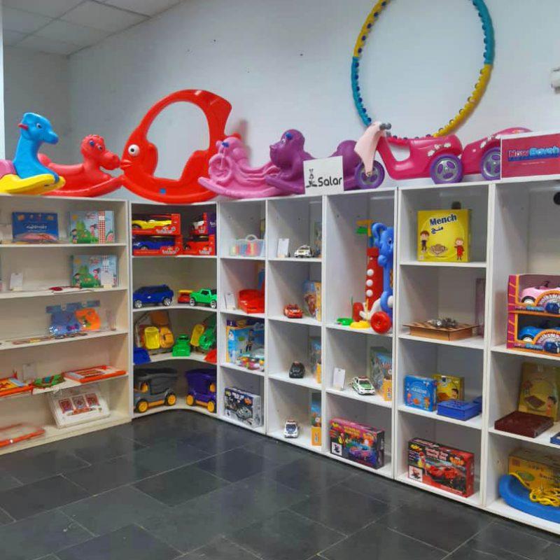 شوروم فروشگاه سرزمین اسباب بازی حرید حضوری 1