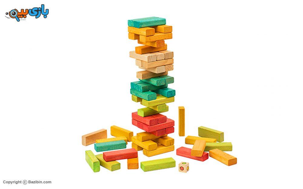 اسباب بازی برج جنگا حرفه ای بیس