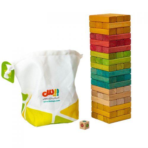 اسباب بازی برج جنگا حرفه ای بیس 4