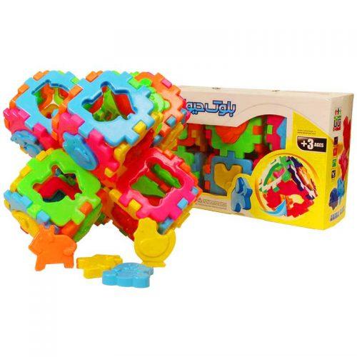 اسباب بازی بلوک حیوانات تابا 6