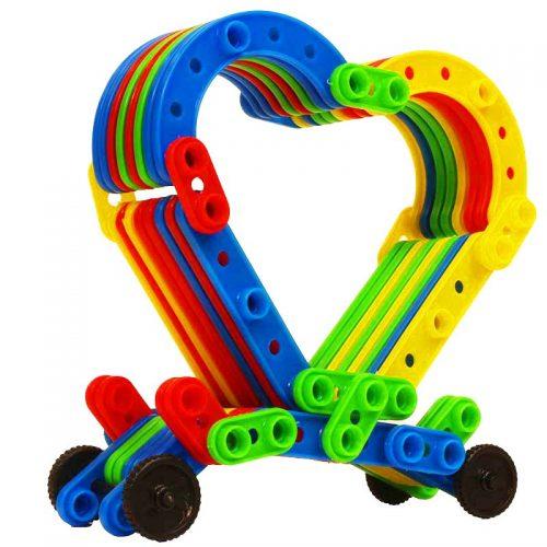 اسباب بازی دنیای بلوک 192 قطعه تابا 11 4