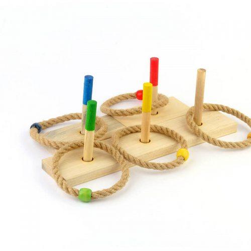 اسباب بازی پرتاب حلقه چوبین3