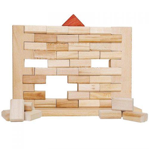 اسباب بازی دیواره 40 قطعه چوبی سپتا 1