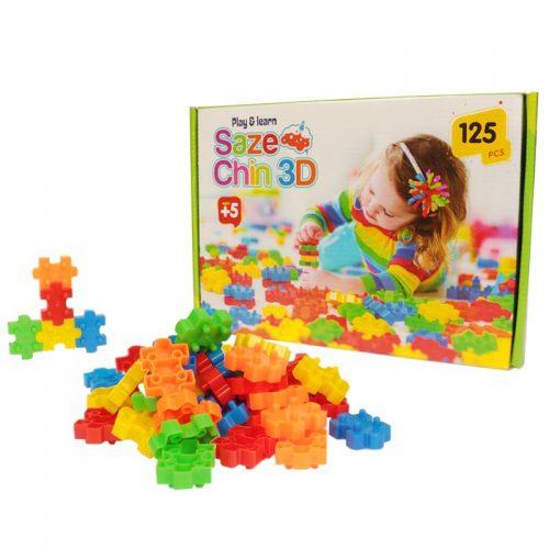 اسباب بازی سازه چین 125 قطعه تابا 2