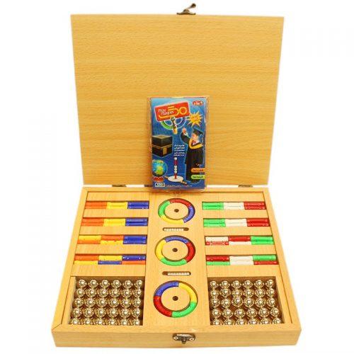 اسباب بازی چوبی رویال خمیده پلی مگنت 3