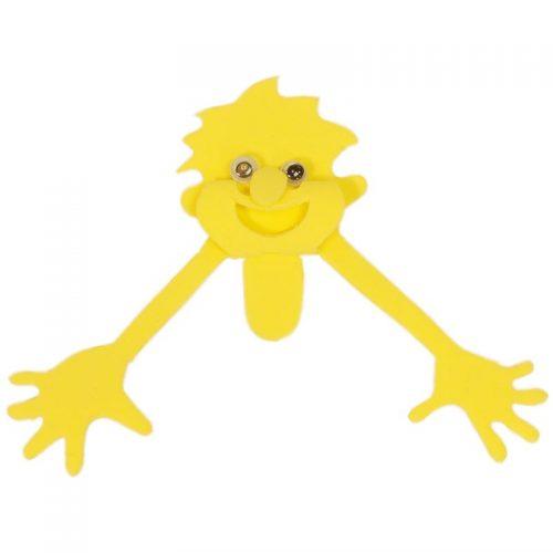 عروسک شیطونک زرد شادی رویان 1