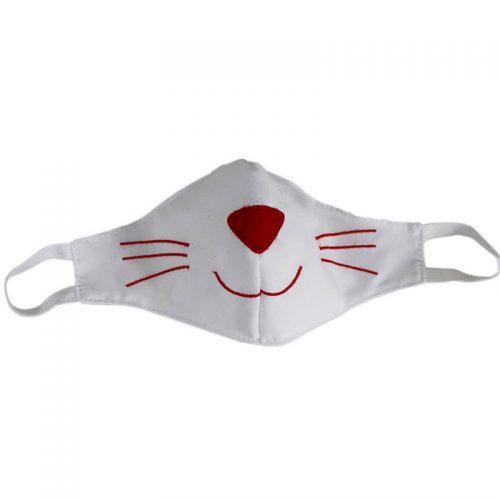 ماسک عروسکی گربه شادی رویان