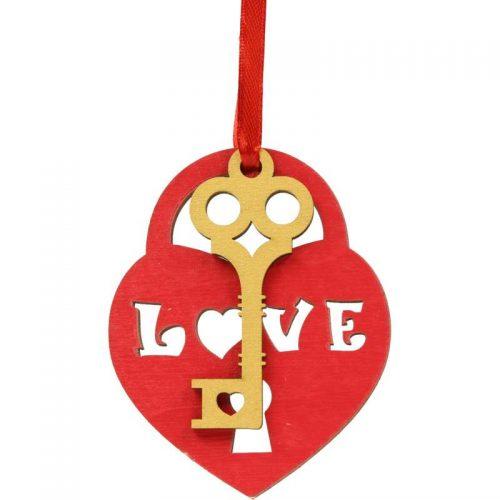 کاردستی چوبی تزئینی قلب و کلید ایپکا IMG 0181