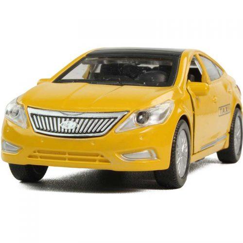 اسباب بازی ازرا تاکسي زرد فلزی طاها IMG 0738