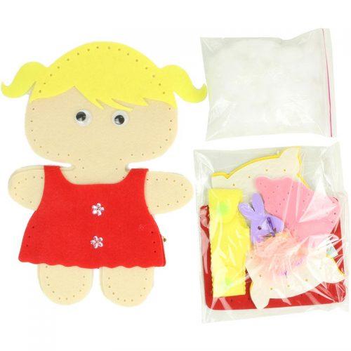 عروسک دوختی دختولک 4