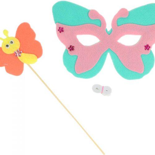 ماسک و ابزار مدل پروانه گاليله کوچولو