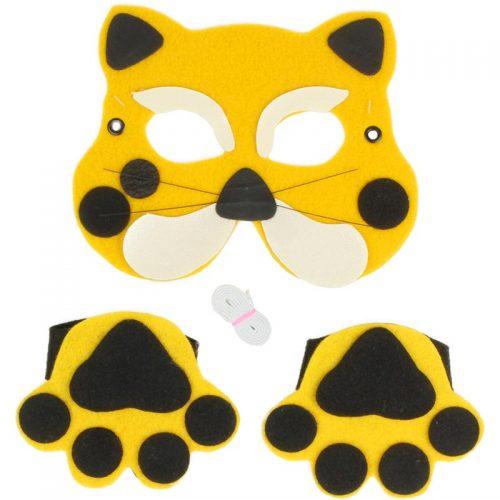 ماسک و ابزار مدل گربه گالیله کوچولو 2