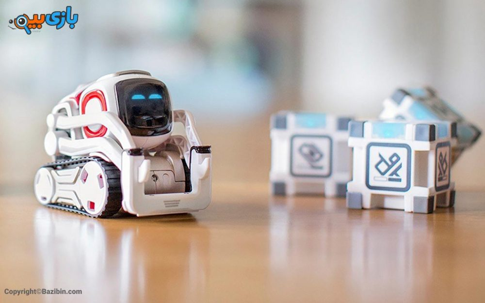 بازی ربات کازمو cozmo 10