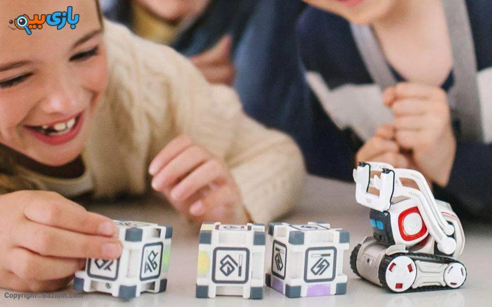بازی ربات کازمو cozmo 7