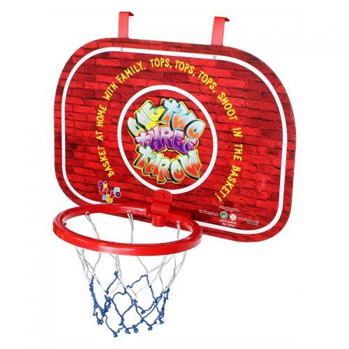 بازی ست بسکتبال دیواری سوپر با توپ طرح آجر فکر بازینو