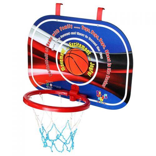 بازی ست بسکتبال دیواری سوپر با توپ طرح بسکتبال فکر بازینو
