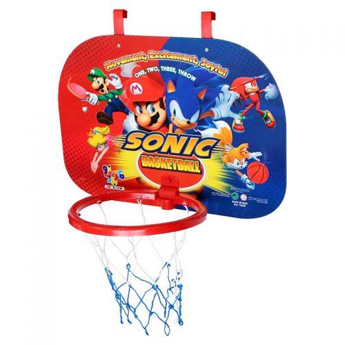 بازی ست بسکتبال دیواری سوپر با توپ طرح سونیک فکر بازینو